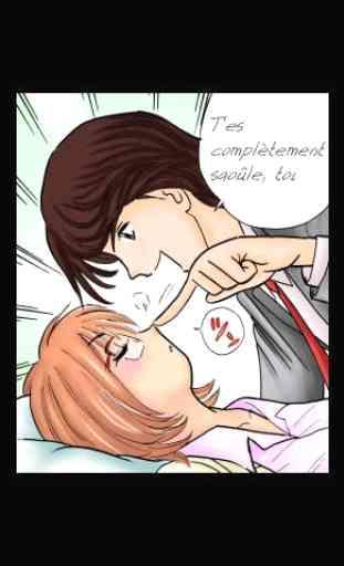 Séduction avec un avatar sexy Manga Gratuit 3