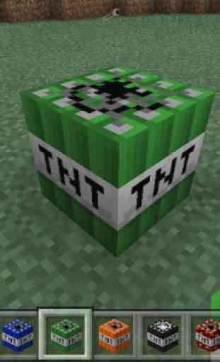 Too much TNT mod mcpe 2