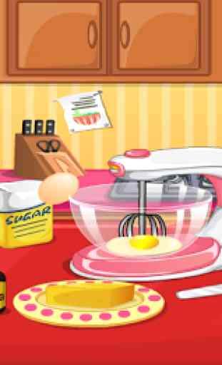 Pâtissier - Jeux de cuisine 2
