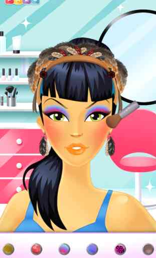Make-Up Girls ñ Jeu de maquillage pour filles - de Pazu 4