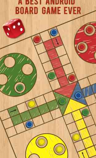 Ludo Parchis Classic Woodboard 2