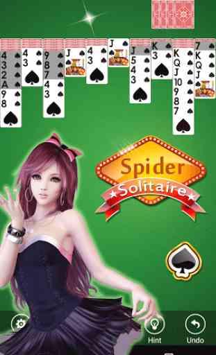 Spider Solitaire 4