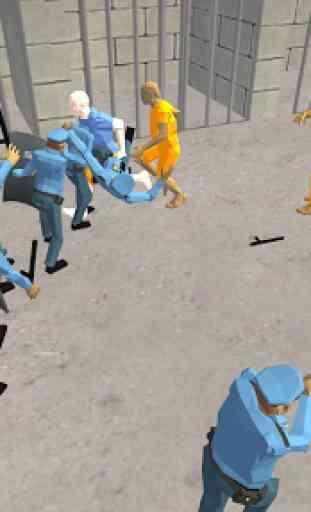 Battle Simulator: Prison & Police 1