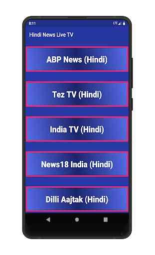 Hindi News Live tv - Live News Hindi Channel 4