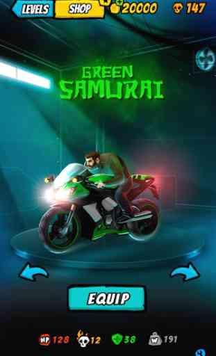 Moto Racing 2: Burning Asphalt 1