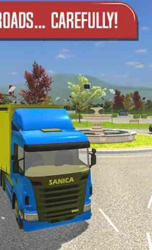 Delivery Truck Driver Simulator 4