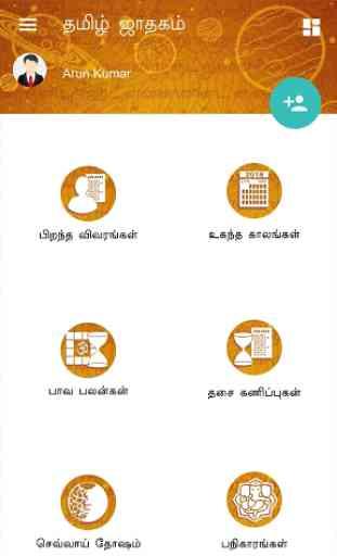 Horoscope in Tamil : Jathagam in Tamil 1