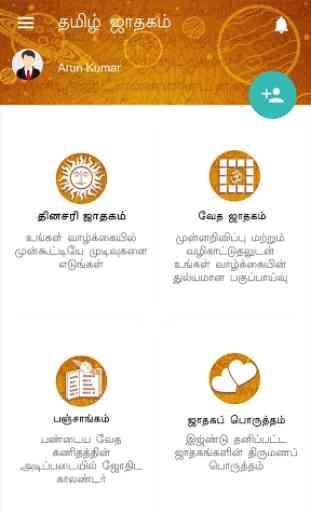 Horoscope in Tamil : Jathagam in Tamil 2