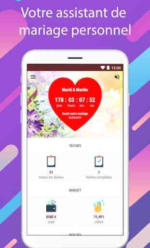 MyWed ❤️ Planificateur de mariage pour les mariées 1