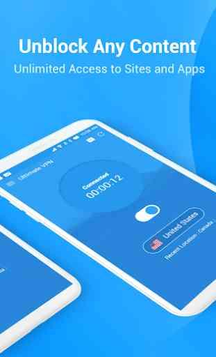 VPN ultime-VPN illimité le plus rapide et sécurisé 2