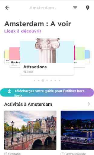 Amsterdam Guide de voyage avec cartes 2