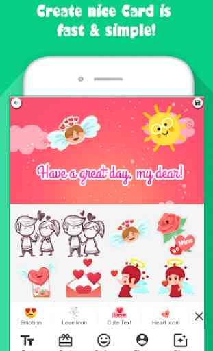 Creative Card - Make Greeting e-card image 2