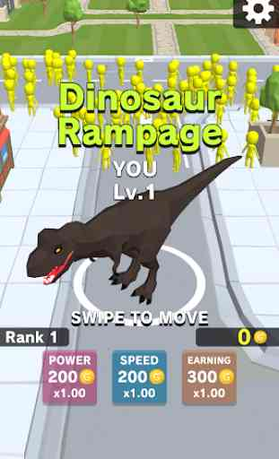 Dinosaur Rampage 1