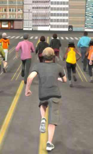 Marathon Race Simulator 3D: Jeu de course 1