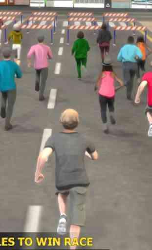 Marathon Race Simulator 3D: Jeu de course 2