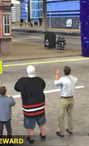 Marathon Race Simulator 3D: Jeu de course 3