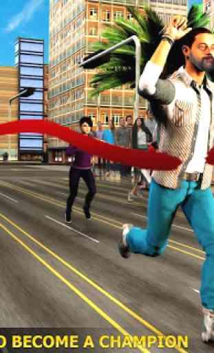 Marathon Race Simulator 3D: Jeu de course 4