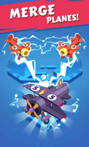 Merge Plane - Click & Idle Tycoon 1