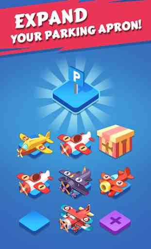Merge Plane - Click & Idle Tycoon 2