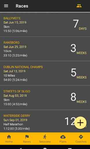 RunPlan: Training Plans | Running 5k to Marathon 2