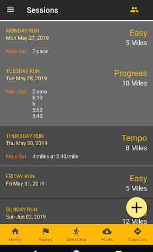 RunPlan: Training Plans | Running 5k to Marathon 3