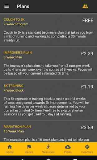 RunPlan: Training Plans | Running 5k to Marathon 4
