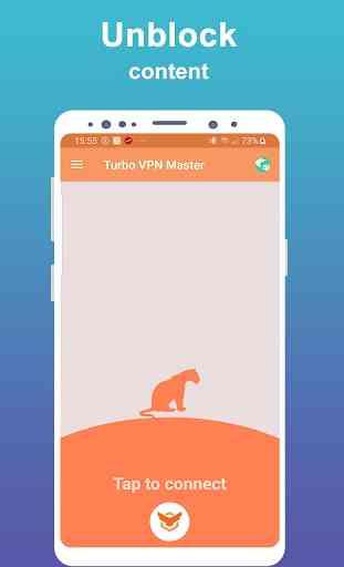 Turbo VPN Master - Proxy WiFi gratuit et illimité 1