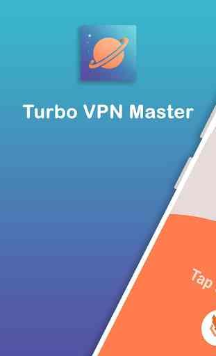 Turbo VPN Master - Proxy WiFi gratuit et illimité 4