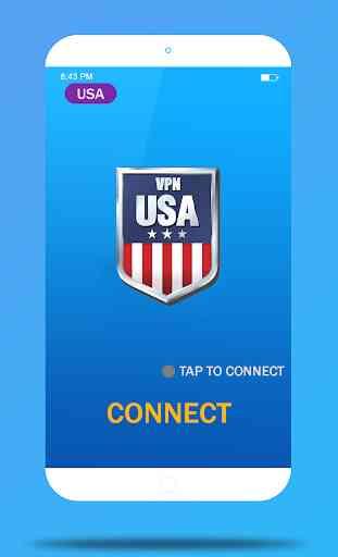 USA VPN Master- Free VPN Proxy & Wi-Fi Security 1