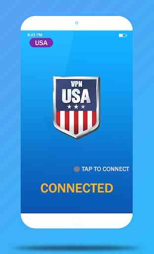 USA VPN Master- Free VPN Proxy & Wi-Fi Security 3