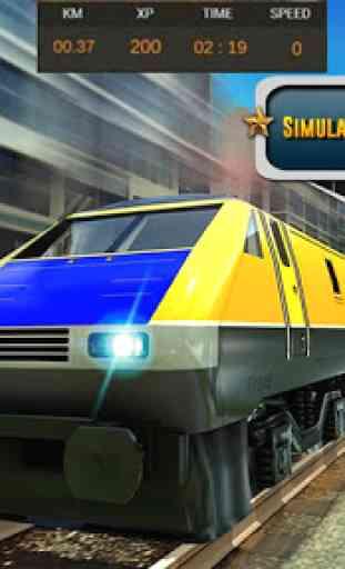 ville train chauffeur simulateur 2019 train Jeux 2