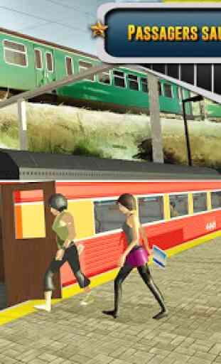 ville train chauffeur simulateur 2019 train Jeux 3