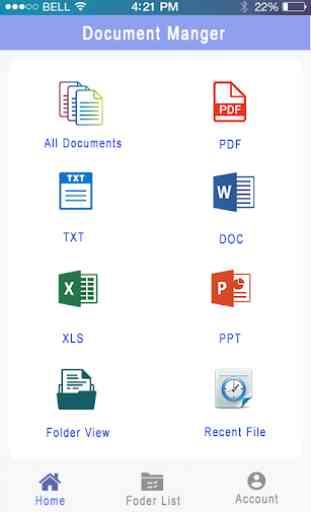 lecteur de tous les document: visualiseur document 1