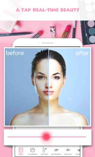 Pretty Makeup, Beauty Photo Editor & Selfie Camera (Android) image 1