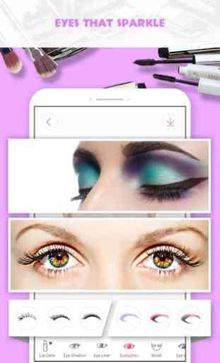 Pretty Makeup, Beauty Photo Editor & Selfie Camera (Android) image 3