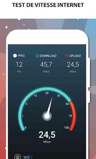 Test de vitesse Internet - Test de vitesse Wifi 1