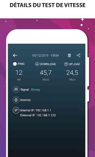 Test de vitesse Internet - Test de vitesse Wifi 2