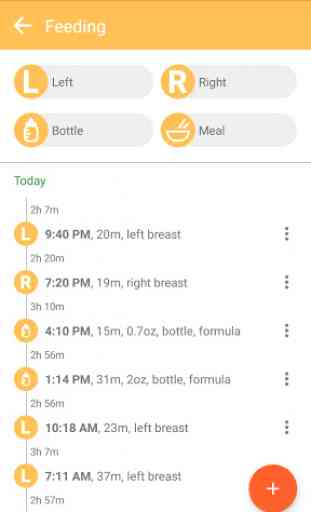 Baby tracker - feeding, sleep and diaper 4