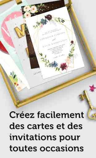 Île de voeux - Créateur de Cartes et d'invitations 1