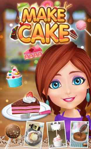Cake Maker 2-Cooking game 2