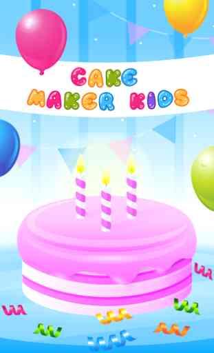 Cake Maker Kids - Cooking Game 1