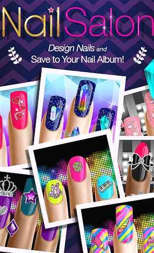 Manucure Jeux d'Ongle Nail Art 2