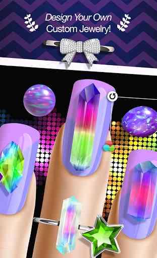 Manucure Jeux d'Ongle Nail Art 3