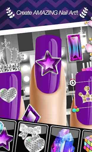 Manucure Jeux d'Ongle Nail Art 4