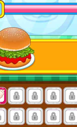 Resto burger fast-food 1