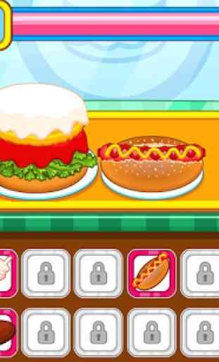 Resto burger fast-food 2