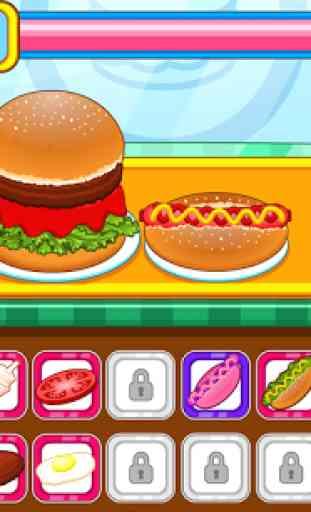 Resto burger fast-food 4