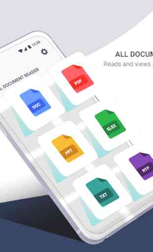 Tous Docs Reader pour visionneuse bureau Android 1