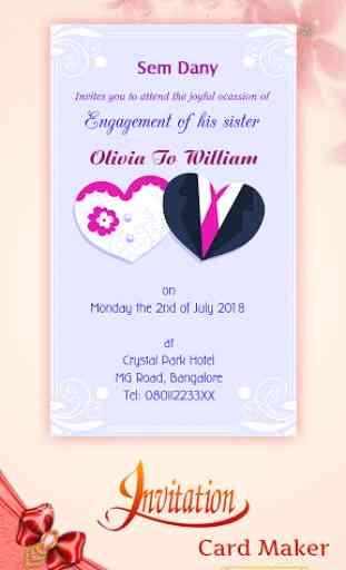 Digital Invitation Card Maker image 2