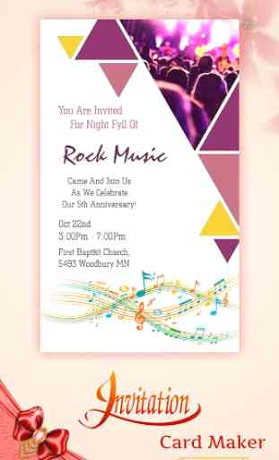 Digital Invitation Card Maker image 3